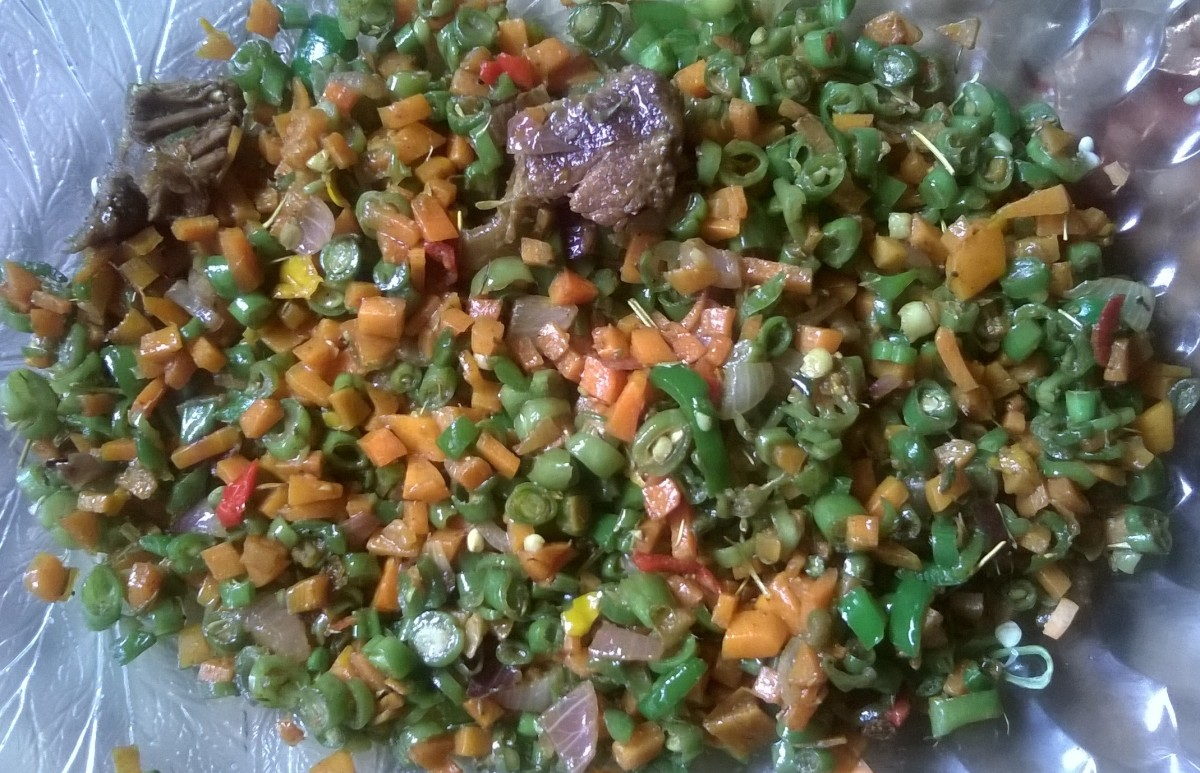 Mixed Vegetable Stir Fry With Beef Recipe - 20 Minutes