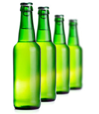 18351292-beer-bottles