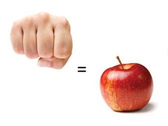 fist-med-fruit