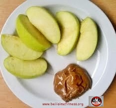 apple and nuts butter