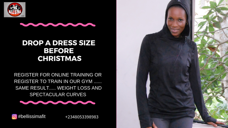 DROP A DRESS SIZE BEFORE CHRISTMAS